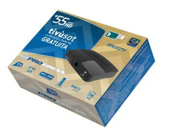 Giftbox 3D DiProgress DPS102TV 55+