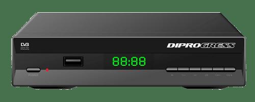 Decoder satellitare dvbs2 free to air diprogress